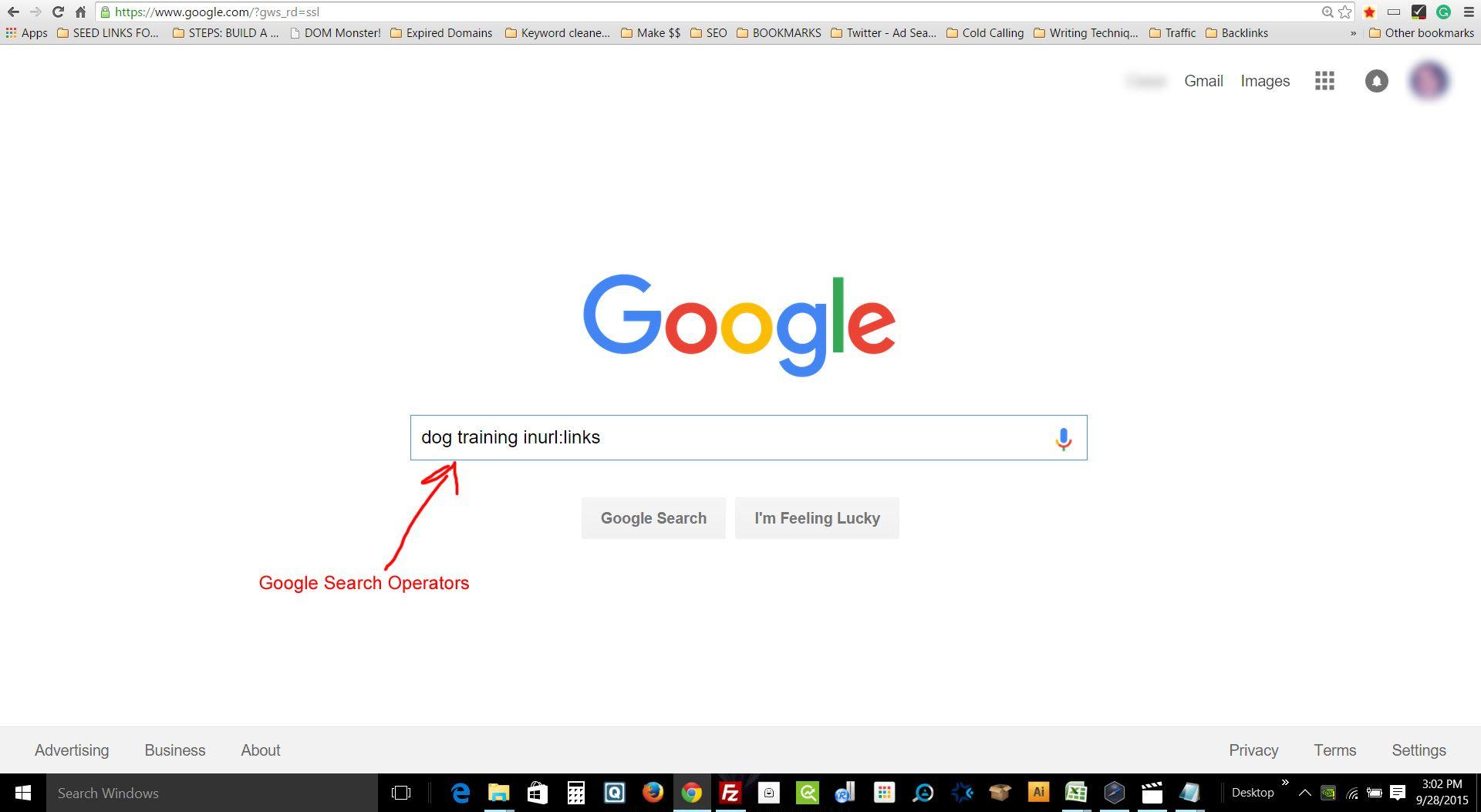 google-search-operatorz