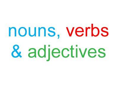 nouns-verbs-adj